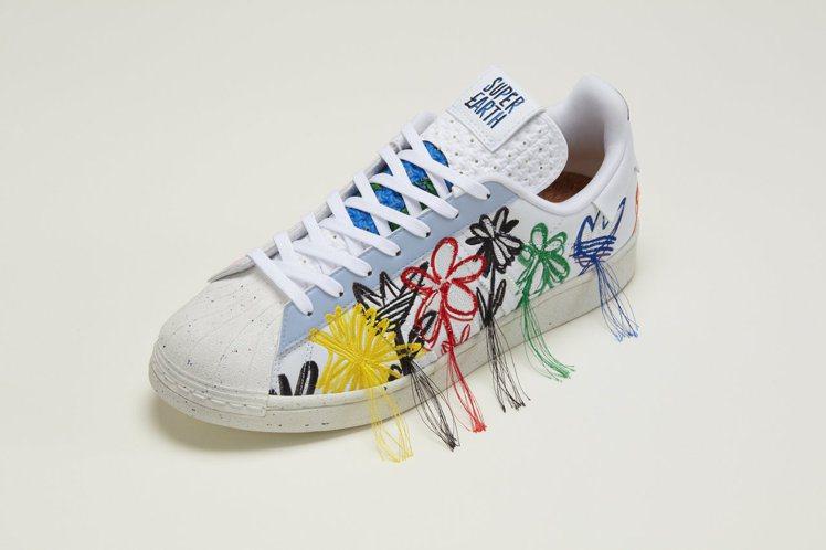 adidas Originals SUPEREARTH鞋4,090元。圖/adi...