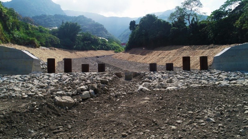 「信義鄉第5期頭坑野溪整治工程」獲得優良農建工程獎治山防災類佳作。圖/南投林管處提供