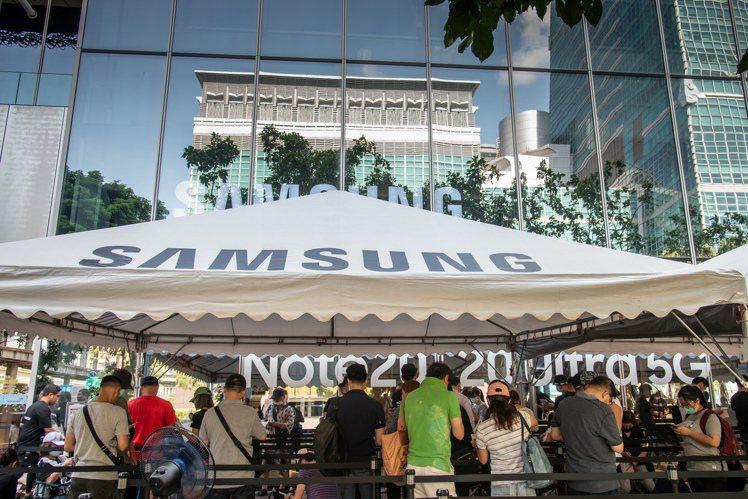 今天(8月26日)Samsung Galaxy Note20 5G旗艦系列預購優...