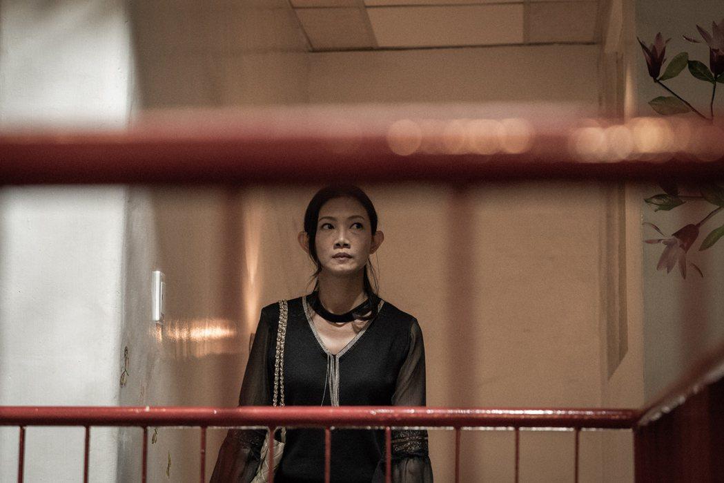 吳奕蓉以「大桔大利闔家平安」入圍迷你劇集女主角獎。圖/客台提供