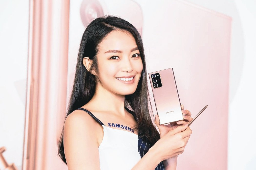 三星旗艦機種Galaxy Note20 5G系列預購開紅盤。台灣三星電子/提供