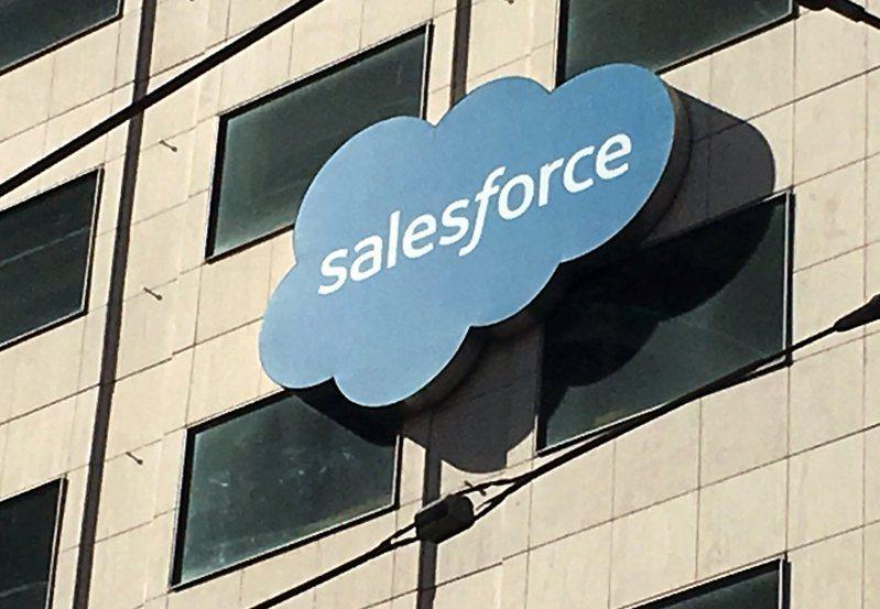 Salesforce上季營收優於市場預期,並且調高明年度獲利預測。(路透)
