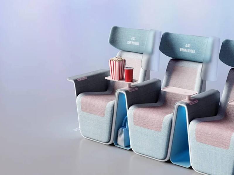 為肺炎而設戲院座椅sequel seat(LAYER)