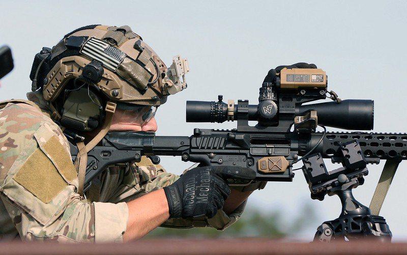 一般戰鬥步槍的擊發時間受限於機械結構設計,擊發時間多在0.5~1秒上下。 圖/美國陸軍