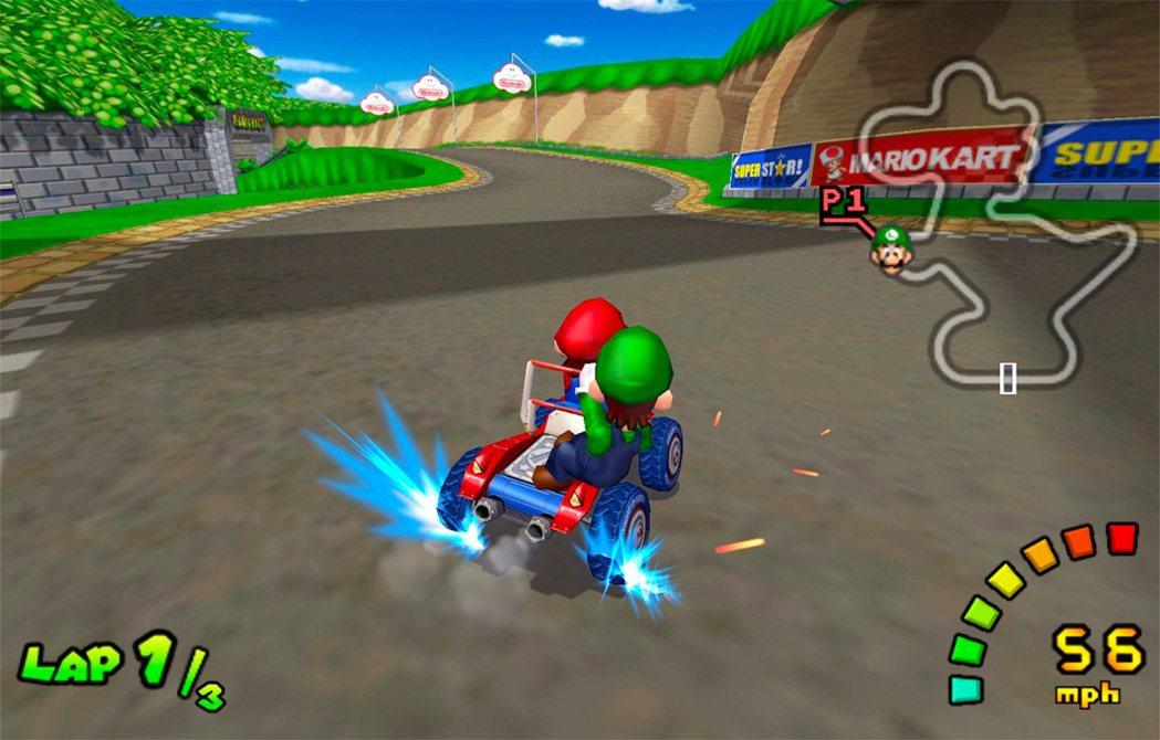 當初在 GameCube 上推出的《瑪利歐賽車 雙重衝刺!!》(Mario Ka...
