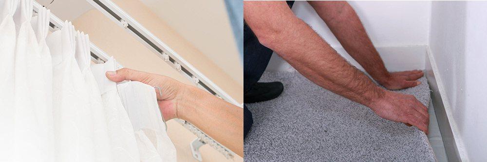 窗簾及地毯等軟性材質能夠吸收聲響,有效降低家中噪音。 圖/21世紀不動產 提供