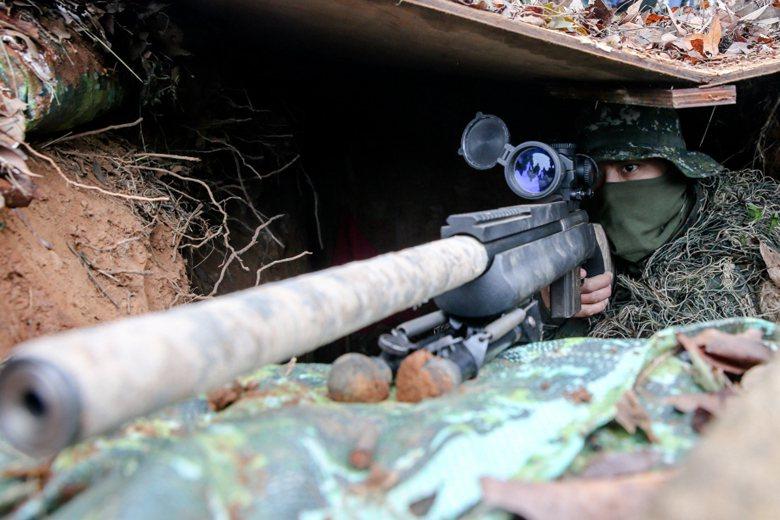 要提升部隊射擊水準,最根本的辦法就是讓官士兵搞清楚自己的射擊習慣。 圖/聯合報系資料照