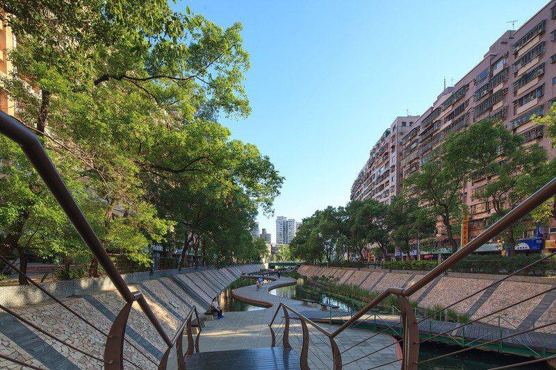 「遠雄達利」鄰近中港綠堤,是散步的好去處。 圖/遠雄提供