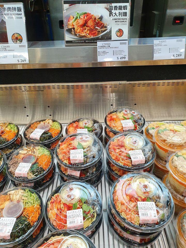 好市多新品「蒜香龍蝦義大利麵」引網友轟動。圖/翻攝自「Costco好市多 商品經驗老實說」
