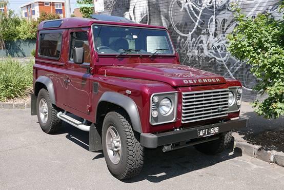 圖二、Land Rover Defender 90車款 (圖片來源:維基百科)