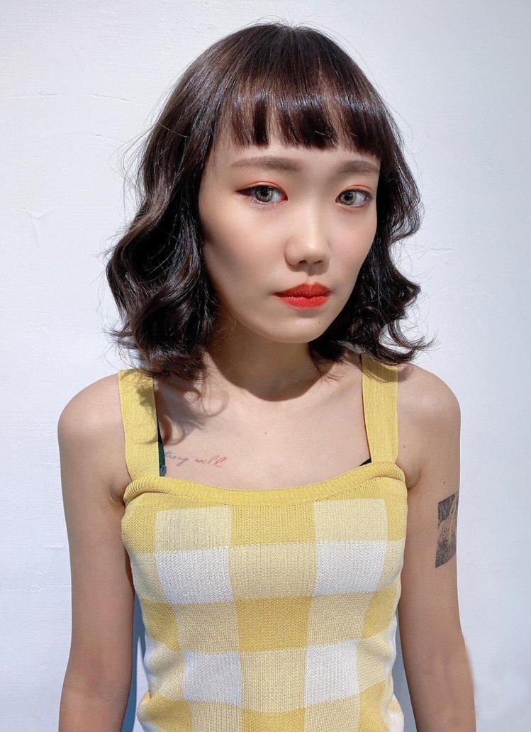 髮型創作/緹恩髮廊TN design / Mandy,圖/StyleMap美配提...