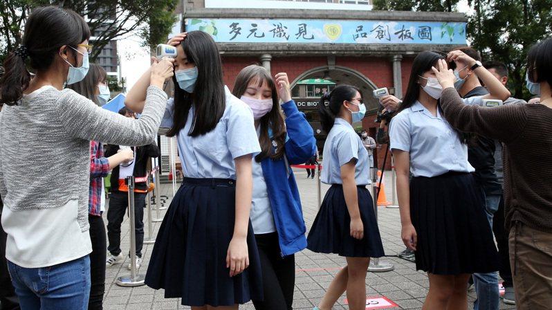 中小學生下周開學,校園防疫受關注。圖/聯合報系資料照片