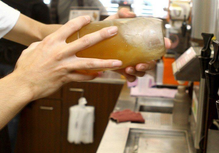 手搖飲料示意圖。聯合報系資料照