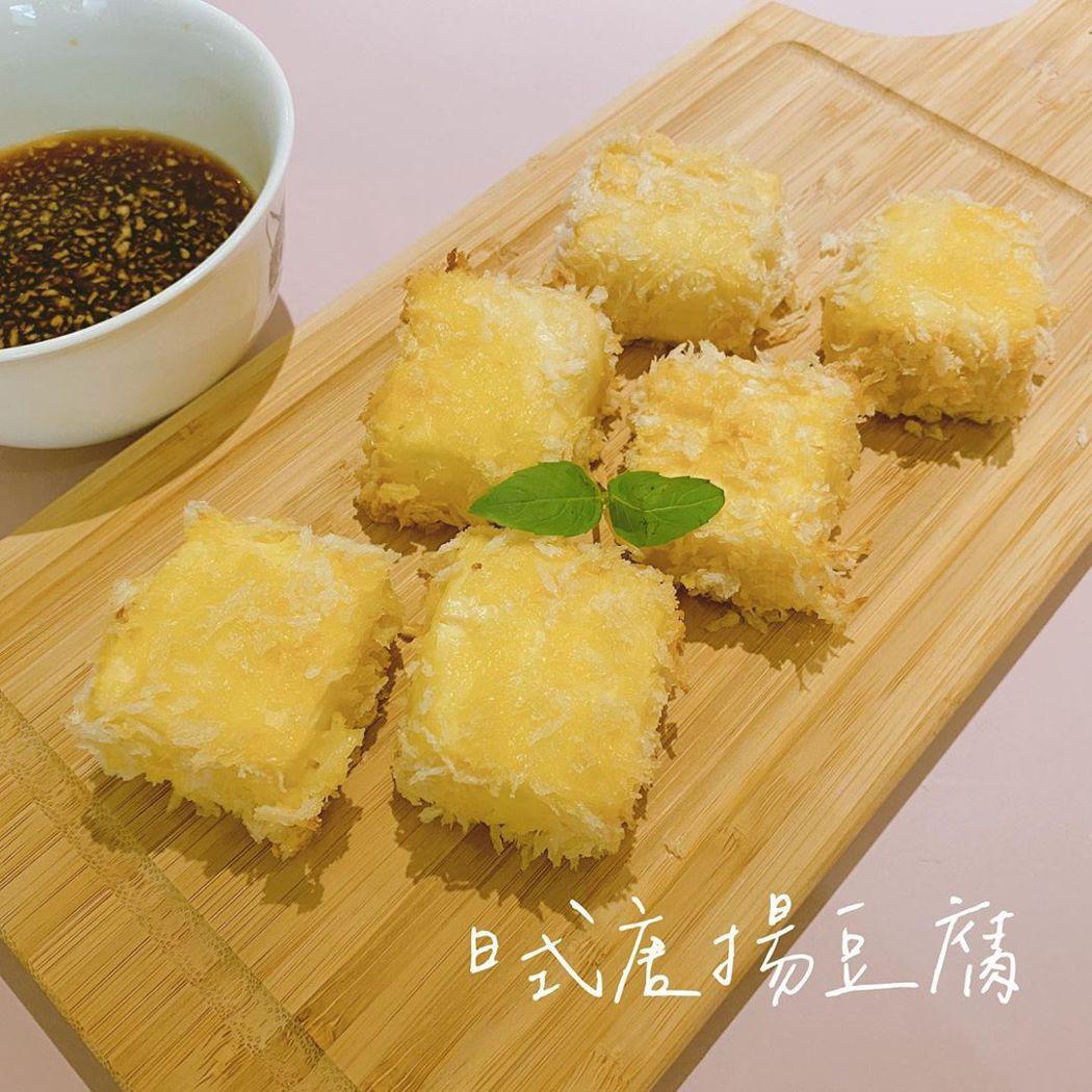 薛薛私下也很會烹調豆腐料理。圖/摘自薛薛IG