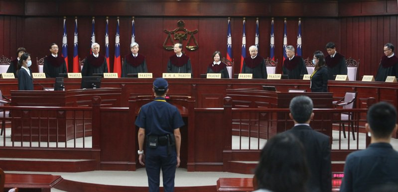 大法官受理黨產條例釋憲案,6月言詞辯論。8月28日公布釋憲結果。圖/聯合報系資料照片