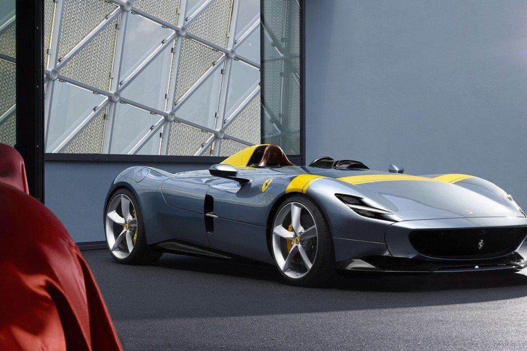 Ferrari Monza SP1。 摘自Ferrari