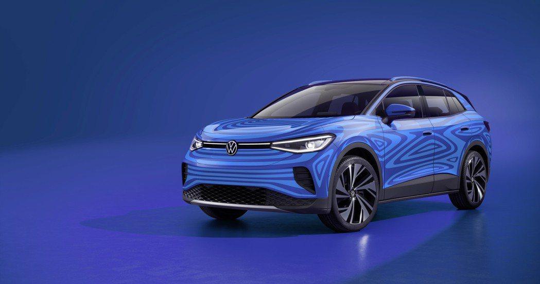 全新Volkswagen ID.4即將在九月底正式亮相。 摘自Volkswage...