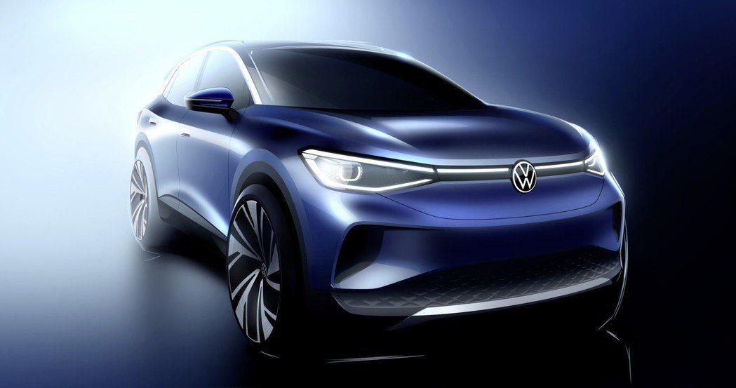 原廠表示,全新Volkswagen ID.4僅有0.28Cd風阻係數。 摘自Vo...