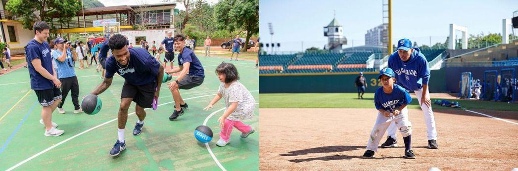 富邦慈善基金會整合集團資源,安排各式趣味體育活動與郊遊,開發孩子的潛在能力。