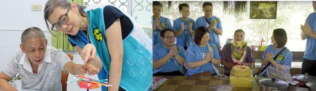 富邦公益大使走入台灣各地社區,把溫暖與愛傳送到需要幫助的地方。