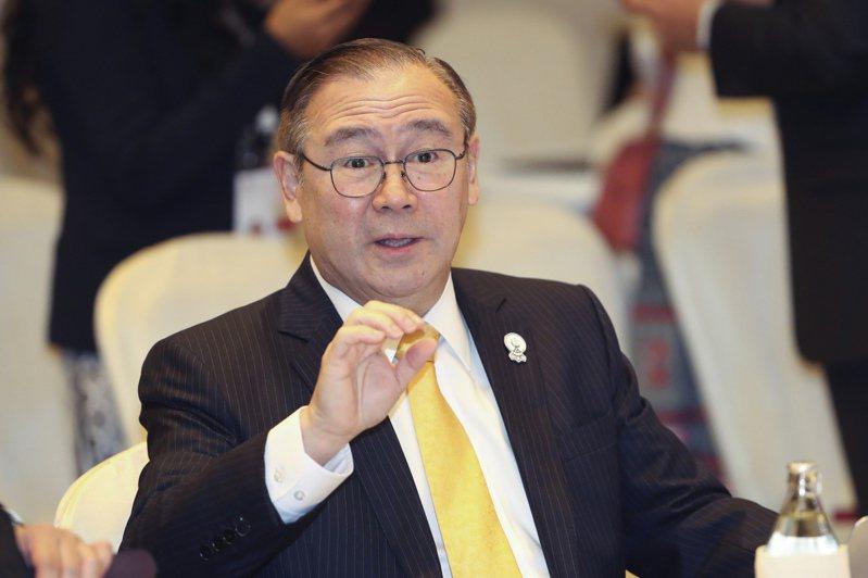 菲律賓外交部長陸辛。 美聯社