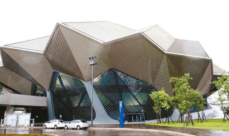 台北流行音樂中心是台灣第一座可容納6000人的流行音樂專屬表演場館。 記者曾吉松/攝影