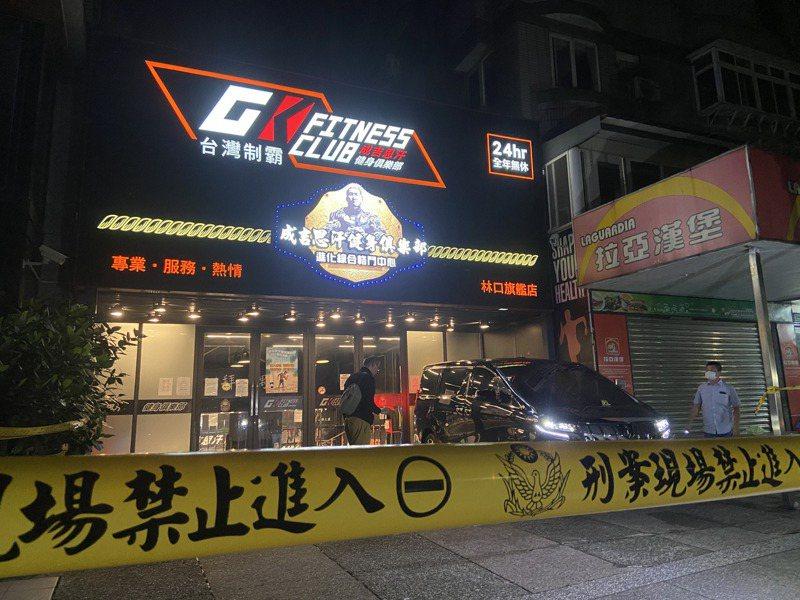 知名網紅「館長」陳之漢在自家健身中心門口被人開3槍。記者柯毓庭/攝影
