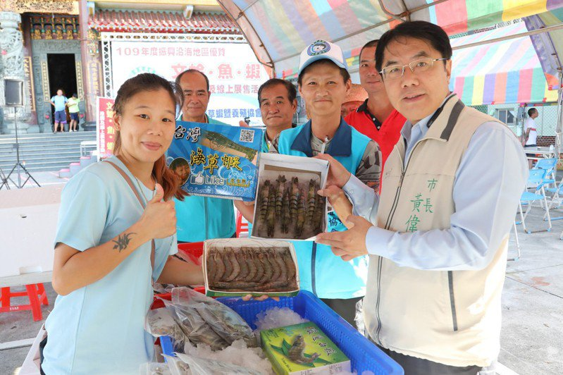台南市政府強調台灣蝦養殖用藥是未查證的謠言,抹殺漁民和產業的努力。圖/市府提供