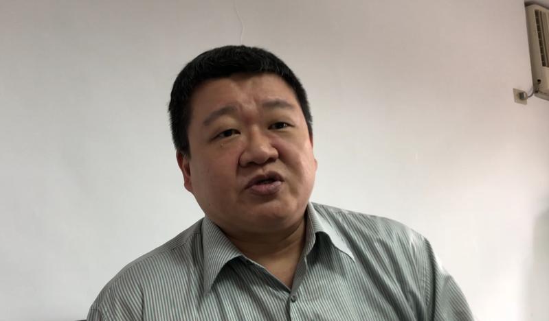 民進黨新北黨部主委何博文。圖/報系資料照片