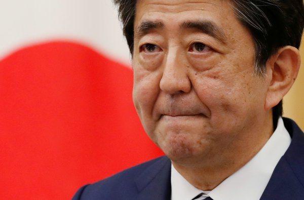 日本首相安倍晉三。路透社