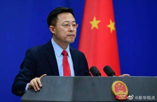大陸外交部發言人趙立堅。圖/取自大陸外交部網站