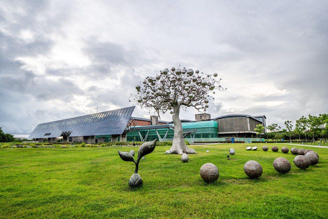面積廣達192公頃的台南歷史博物館,就在「三富樂樂」旁邊。 圖片提供/三富地產