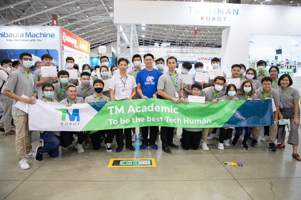 達明機器人與台科大工程學院共同參與,由經濟部工業局主辦的智慧機械產學接軌計畫,整...