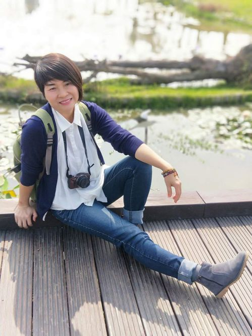 丹寧是最適合旅行的搭配!圖/張賢鳳提供