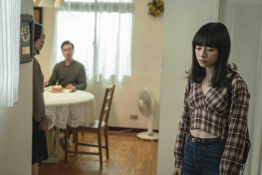 姚愛寗(右)劇中與蔡燦得爆爭吵。圖/LINE TV提供