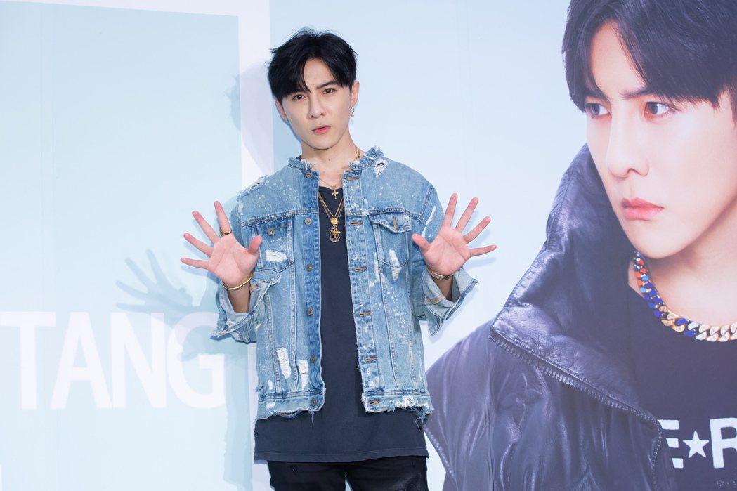 唐禹哲時隔9年推出兩單曲,晉升創作歌手。記者季相儒/攝影