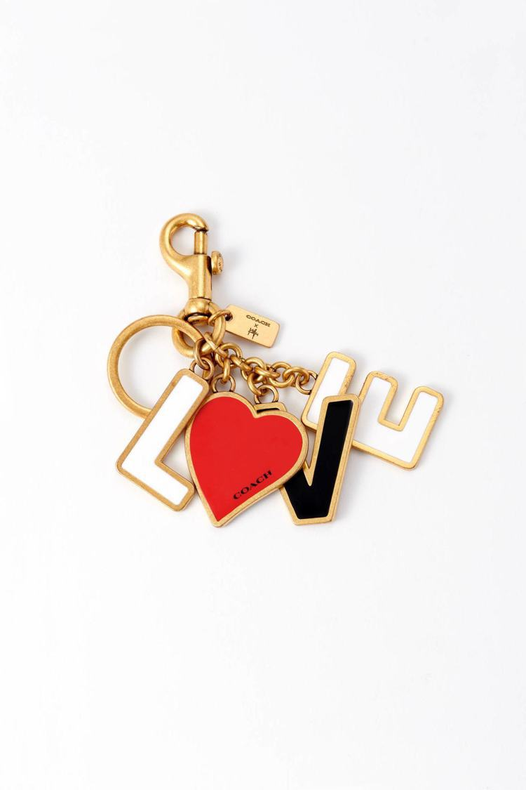 COACH x Kōki,吊飾鑰匙圈,23,100日圓、約台幣6,505元。圖/...