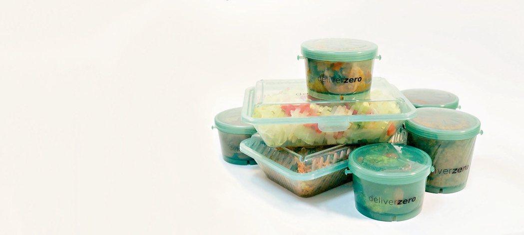 鼓勵外送餐飲使用可重複使用的環保餐具,從源頭管理減少一次性垃圾。(網路照片)