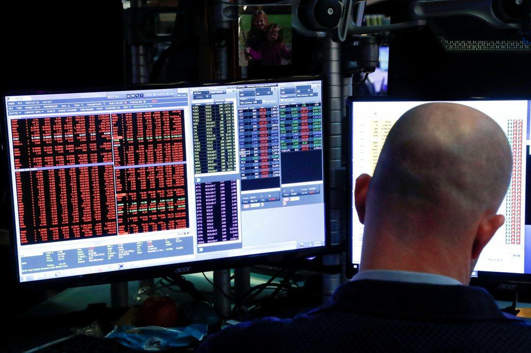 美股上漲,但VIX恐慌指數卻上揚。路透