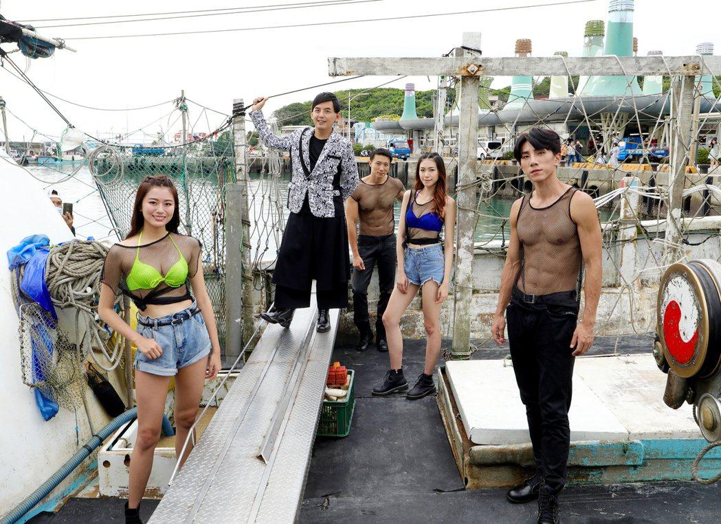 黃子佼擔任「2020北海岸時尚藝術季」活動主持人。圖/伊林娛樂提供