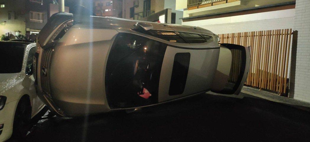 「在特技表演嗎?」台南市1名婦人今晚8時多駕駛200多萬元休旅車,經南區大同路二...