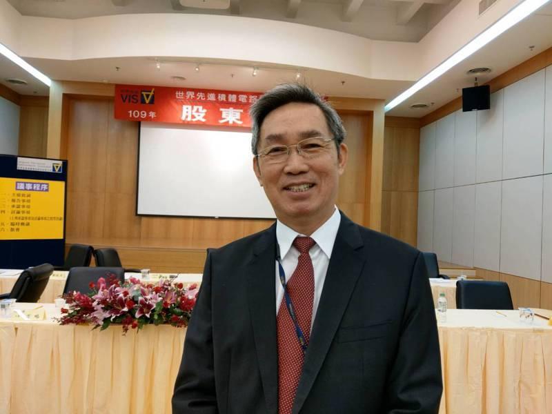世界先進董事長暨總經理方略。記者鐘惠玲/攝影