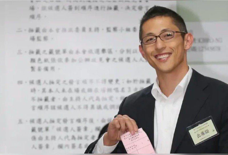 民進黨智庫新境界文教基金會副執行長吳怡農。 圖/聯合報系資料照片