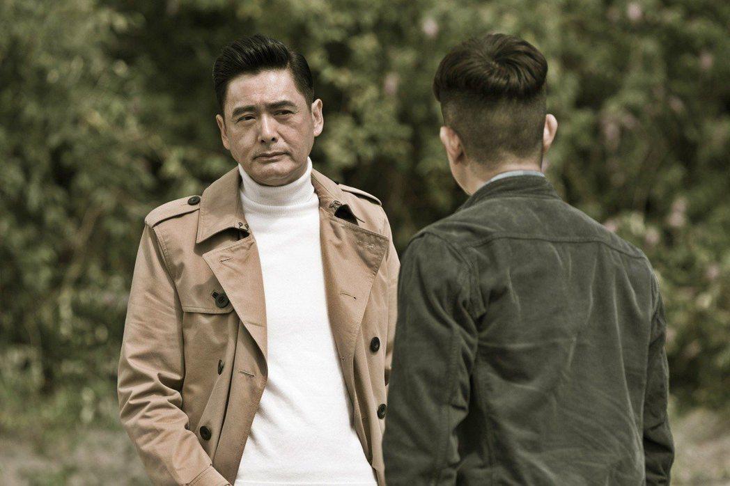 周潤發在「無雙」展現霸氣演技,入圍大眾電影百花獎影帝。圖/双喜提供