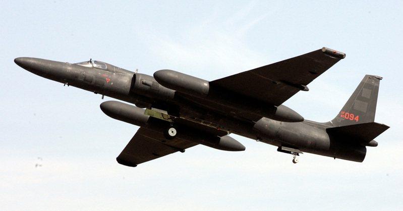 美國空軍U2偵察機。(美聯社)