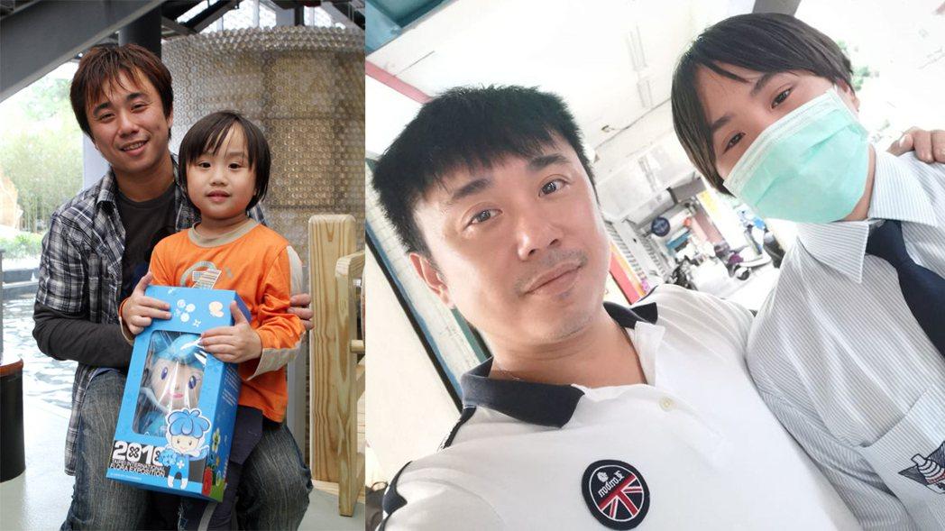 小彬彬發文祝賀兒子小小彬成為華岡藝校新鮮人。圖/擷自溫兆宇臉書