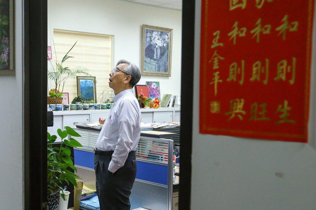 前總統辦公室主任蘇志誠。攝於2019年,蘇志誠曾為有意參選總統的王金平獻策。 圖/聯合報系資料照