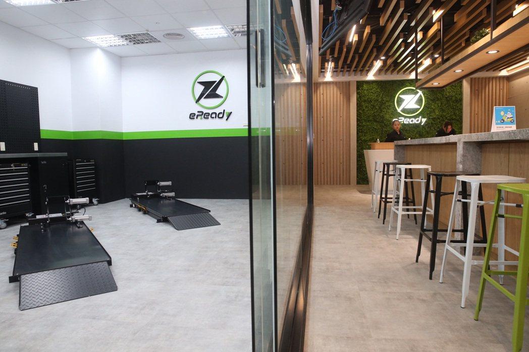 eReady展示空間,給人舒適乾淨的質感。圖/黃義書攝影
