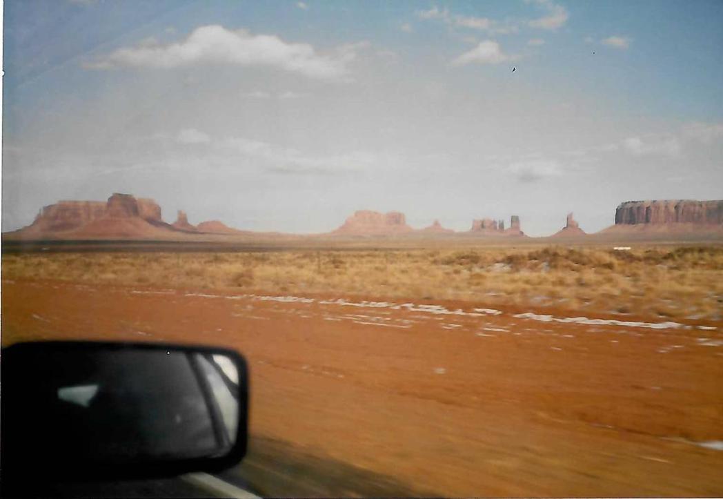舒國治行經Monument Valley。圖/新經典文化提供