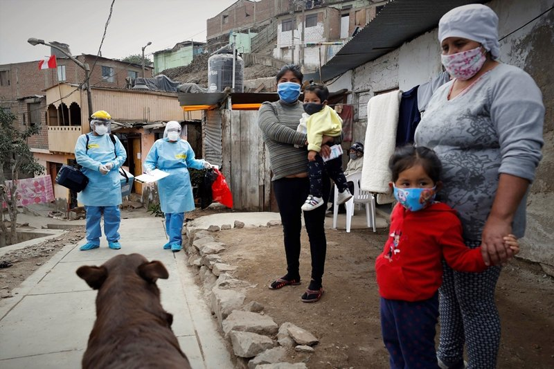 2011年WHO通過大流行性流感防範框架,試圖整合全球醫療資源,進行公平合理的分配。圖攝於秘魯。 圖/歐新社